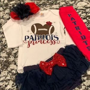 New England Patriots Baby Gear Matching Set